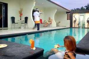 Kolam Renang Alamat Drupadi Studio Apartments JalanDrupadi No188 Seminyak Kuta Bali Kategori Hotel