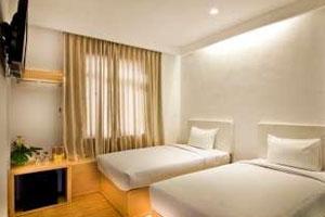 Kamar di Q Hotel