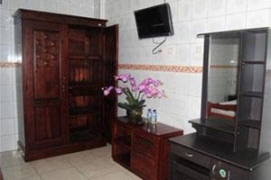 Perabotan dalam kamar hotel