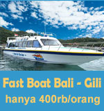 Fast boat dari Bali ke Gili