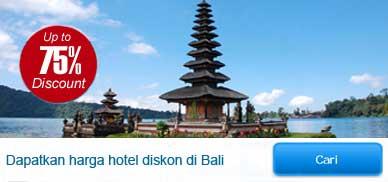 Hotel dan Villa diskon di Bali