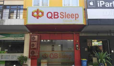 Tampilan QB Sleep Capsule Hotel